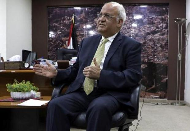 Palestijnse toponderhandelaar Erekat in kritieke toestand