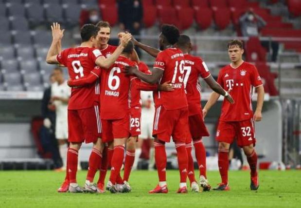 Bundesliga - Le Bayern Munich à une victoire du titre après son succès contre Mönchengladbach