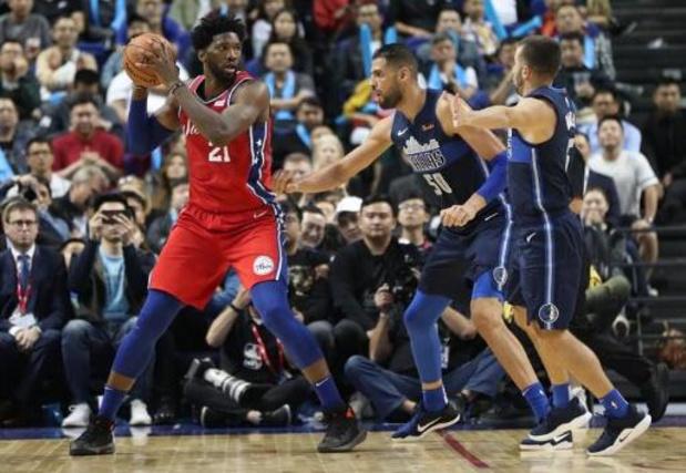 Philadelphia wint topper tegen LA Lakers