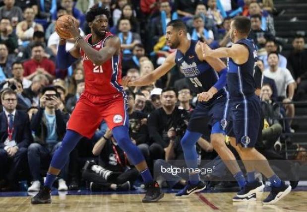 NBA - La victoire de Philadelphie ternie par la blessure d'Embiid, les Sixers inquiets