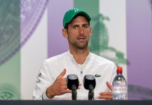 OS 2020 - Novak Djokovic wel naar Spelen