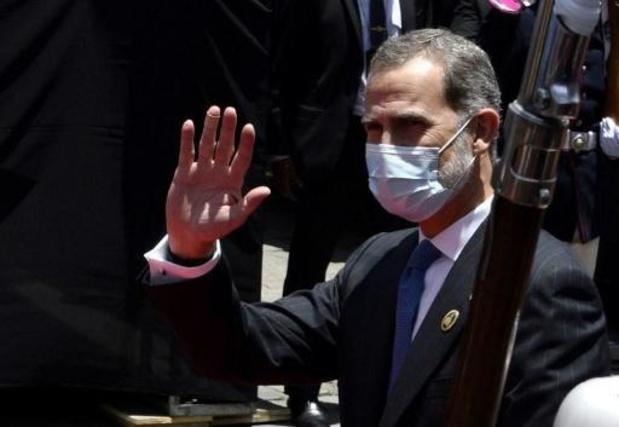 Coronavirus - Le roi d'Espagne Felipe VI en quarantaine