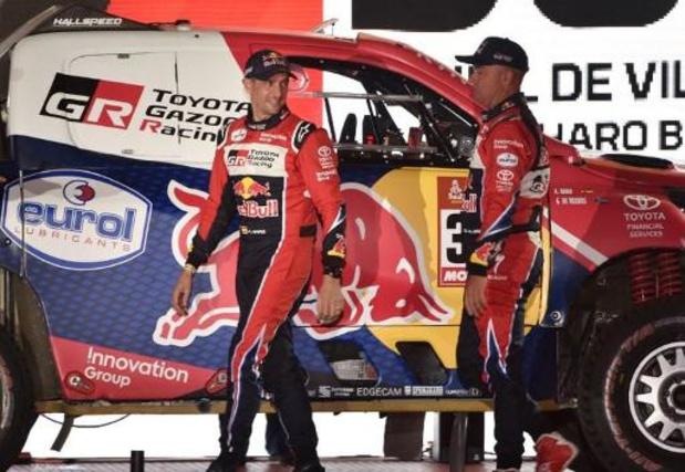 De Villiers wint tweede etappe van Dakar 2020