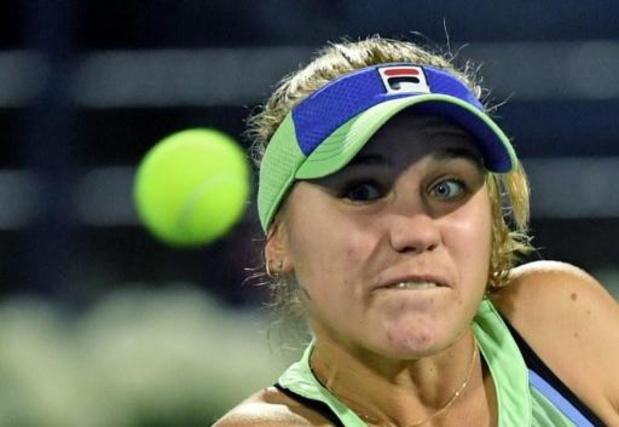 """Sofia Kenin s'attend à """"un match très physique contre Mertens"""" en huitième de finale de l'US Open"""