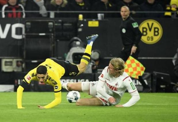Bornauw marque pour Cologne et Saelemaekers a fait ses débuts en Serie A
