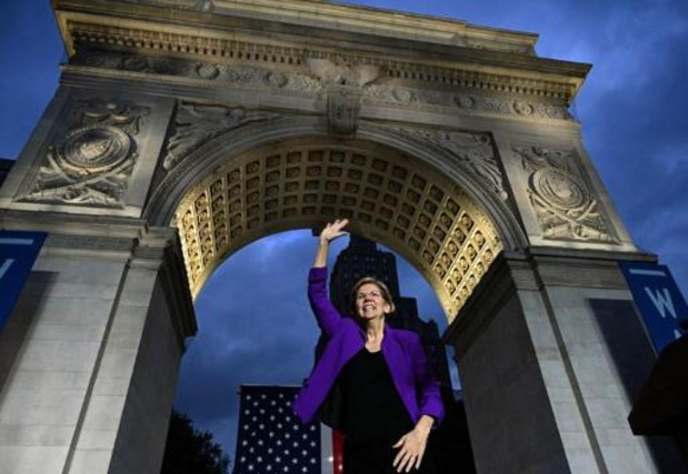 Amerikaanse presidentsverkiezingen in 2020 - Elizabeth Warren steekt voor het eerst Joe Biden voorbij in nationale peiling