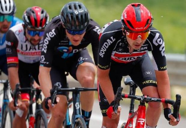 """Giro - Kobe Goossens: """"Het was mijn dag niet"""""""