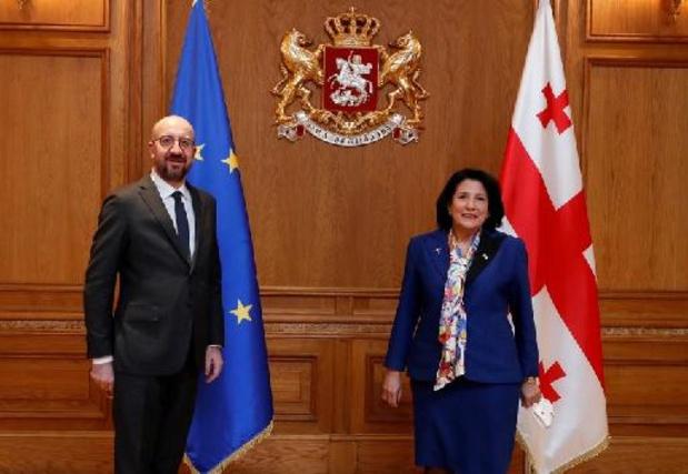 Géorgie: UE et Etats-Unis proposent un compromis pour résoudre la crise politique