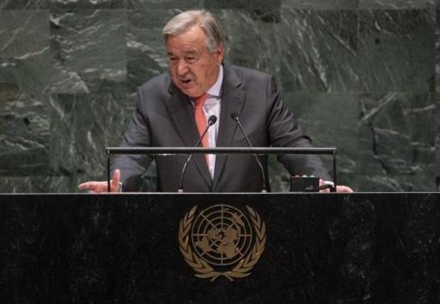 Guterres opent Algemene Vergadering van de Verenigde Naties