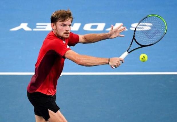 Goffin verslaat Dimitrov en houdt België in de running voor tweede plaats op ATP Cup
