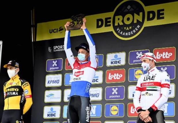 Plus de 1,2 million de téléspectateurs flamands en moyenne devant le Tour des Flandres