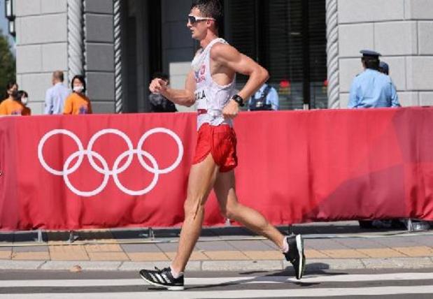 JO 2020 - Le Polonais Dawid Tomala dernier champion olympique du 50 km marche