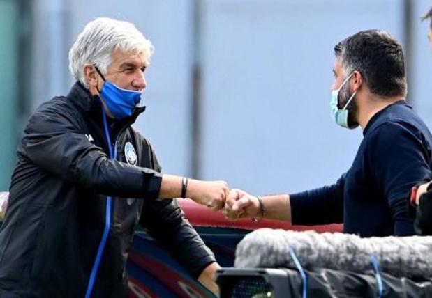 Coupe d'Italie - Naples et l'Atalanta se neutralisent (0-0) en demi-finale aller