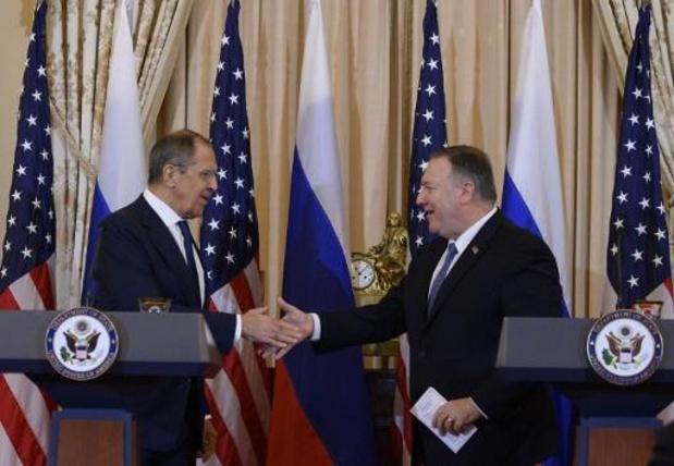 """AMERIKAANSE PRESIDENTSVERKIEZINGEN 2020 - Pompeo waarschuwt Moskou voor """"onaanvaardbare"""" inmenging bij verkiezingen"""