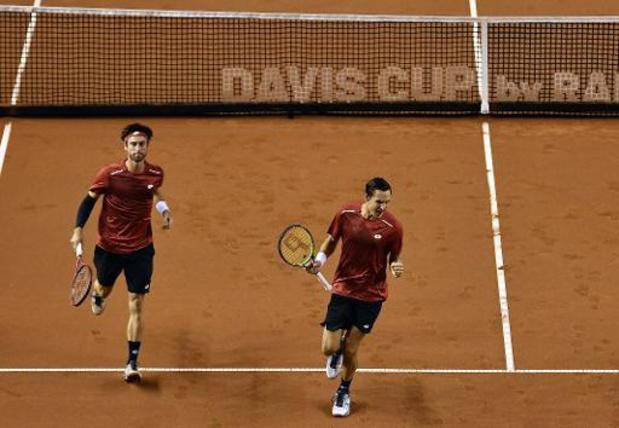 US Open - Sander Gillé et Joran Vliegen rejoignent les quarts de finale du double messieurs