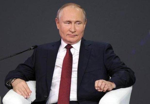 Poetin belooft tegen oktober plan op te stellen om uitstoot te verminderen