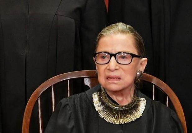 Ruth Bader Ginsburg, oudste rechter VS-Hooggerechtshof, zegt geen kanker meer te hebben