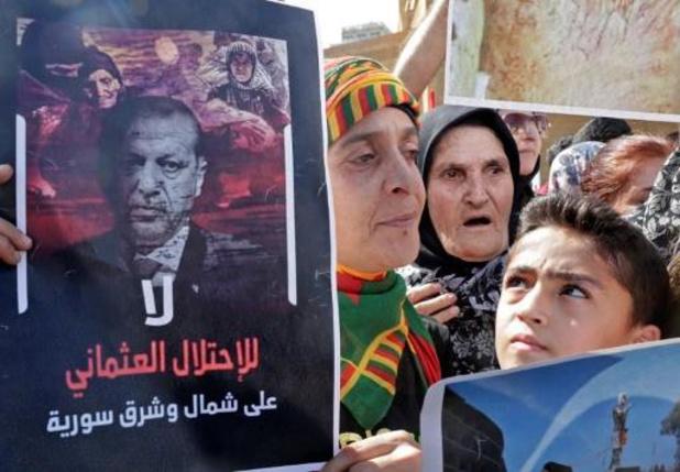 Erdogan eist dat Koerdische troepen ontwapenen en wegtrekken van Turkse grens