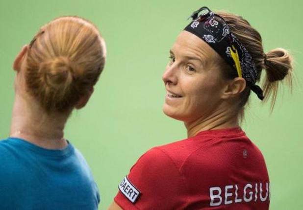 Flipkens en Van Uytvanck dubbelen halve finale tegen Williams/Wozniacki