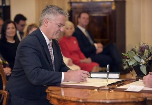L'ex-ministre australien Mathias Cormann, né en Belgique, prend la tête de l'OCDE