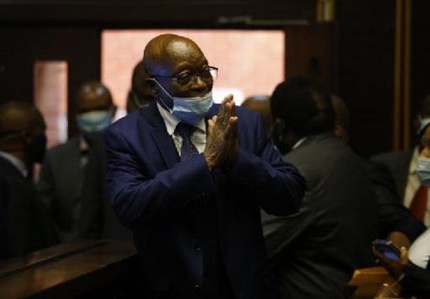 Vroegere Zuid-Afrikaanse president Zuma voor de rechter wegens corruptie