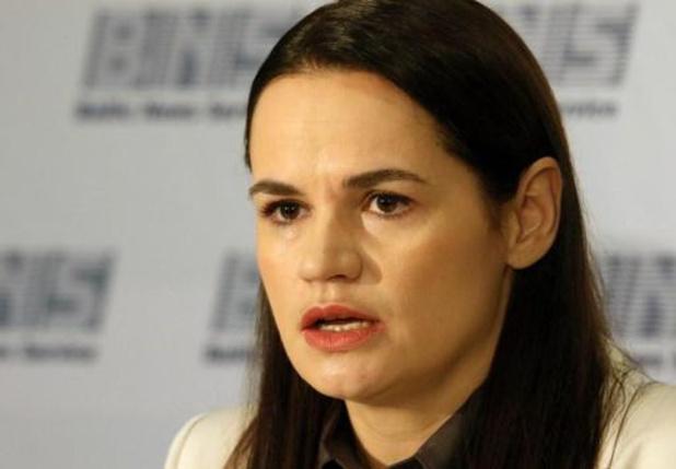 Tichanovskaja waarschuwt andere landen voor akkoorden met regering-Loekasjenko