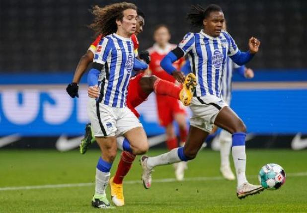 Belgen in het buitenland - Hertha Berlijn en Bielefeld komen niet tot scoren in kelderkraker