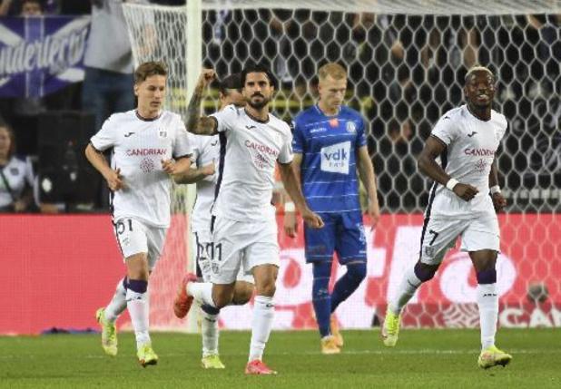 Jupiler Pro League - Anderlecht partage contre La Gantoise (1-1) et se retrouve 3e