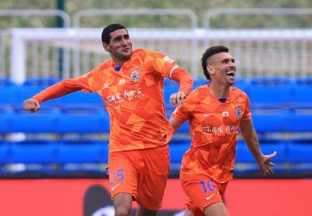 Le doublé de Marouane Fellaini ne rapporte qu'un point à Shandong contre Shenzhen