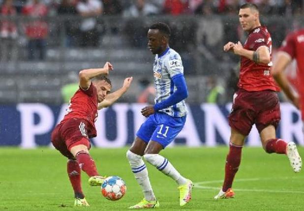 Les Belges à l'étranger - Le Bayern Munich trop fort pour Boyata et Lukebakio