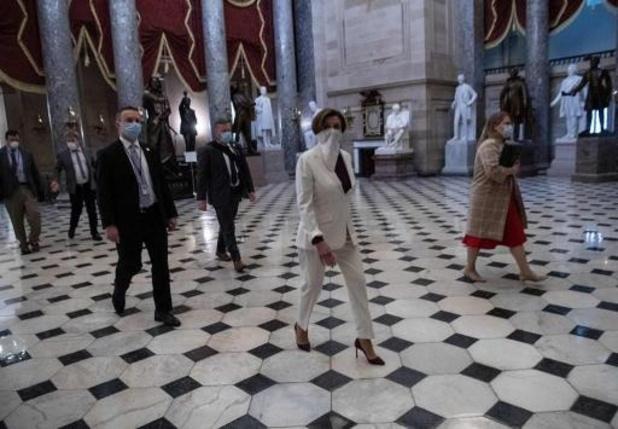 Coronavirus - Huis van Afgevaardigden in VS keurt steunpakket van 484 miljard dollar goed