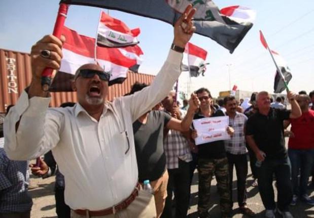 Minstens 120 gewonden bij protesten in Iraakse haven van Um Qasr