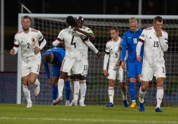 Rode Duivels behouden eerste plaats op nieuwe FIFA-ranking