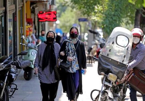 Mondmasker wordt verplicht in Iran