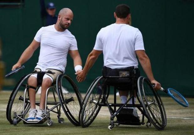 Masters en fauteuil roulant - Joachim Gérard battu en finale du double à Orlando, Jef Vandorpe 4e