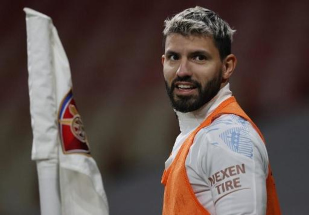 Sergio Agüero (Manchester City) legt positieve coronatest af