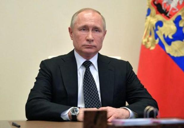 """Poetin stelt festiviteiten voor """"Dag van de overwinning"""" uit"""