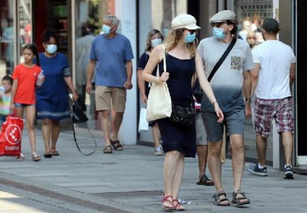 Fin du port du masque obligatoire à Bruxelles dès mercredi, sauf dans les rues fréquentées