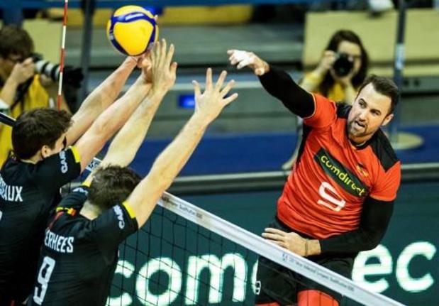 Tournoi de qualification olympique - La Belgique perd aussi contre l'Allemagne et voit Tokyo s'éloigner