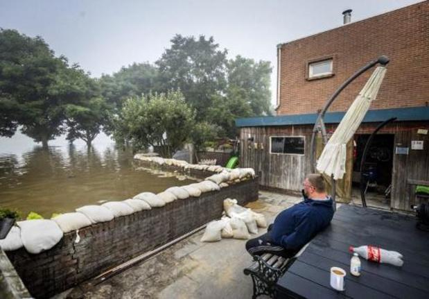 Waterpeil in Limburg en Vlaams-Brabant blijft zeer hoog