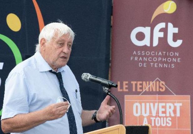 Pierre Crevits succède à André Stein à la tête de l'Association francophone de tennis