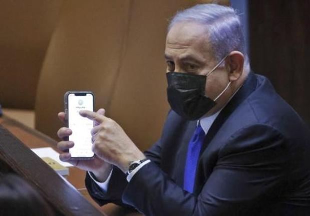"""Netanyahu opent tegenaanval op """"gevaarlijke linkse regering"""""""