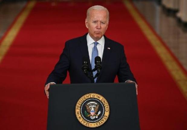 """Talibans au pouvoir en Afghanistan - Biden loue """"l'extraordinaire succès"""" de la mission d'évacuation d'Afghanistan"""