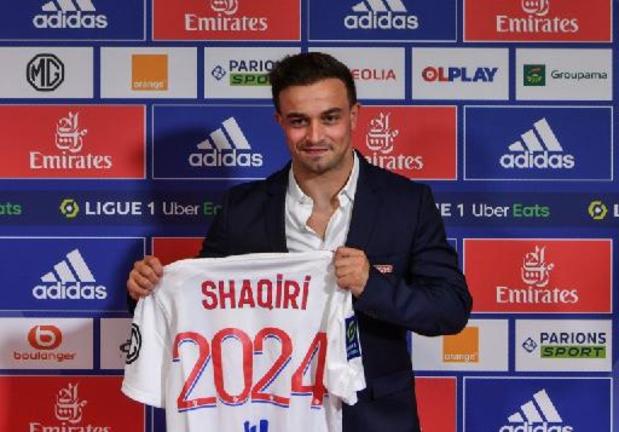 Shaqiri renonce aux matches de qualifications de foot avec la Suisse et rentre à Lyon