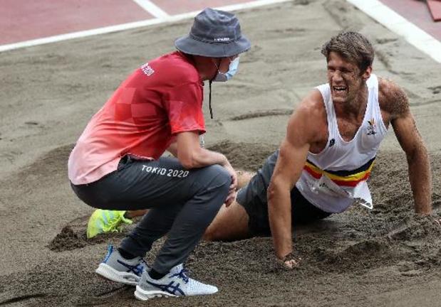 OS 2020 - Thomas Van der Plaetsen met zware hamstringblessure in ziekenhuis, tienkamp afgelopen