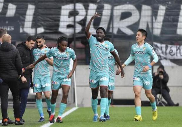 L'Antwerp et Charleroi (1-1) se rapprochent des playoffs 1