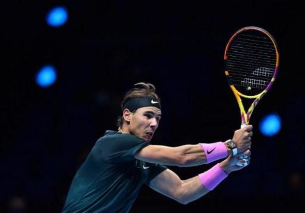 ATP Finals - Rafael Nadal bat Andrey Rublev en deux sets