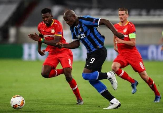 Les Belges à l'étranger - L'Inter, avec Lukaku buteur, en demie de l'Europa League aux dépens de Leverkusen