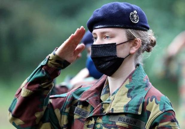 "Prinses Elisabeth rondt militaire opleiding af met kamp: ""Heb er enorm van genoten"""