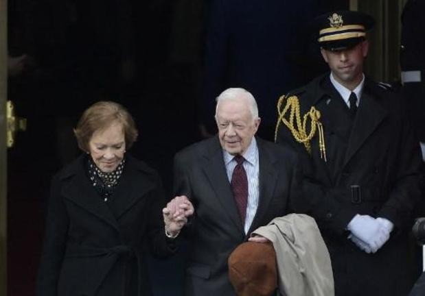 Amerikaanse oud-president Jimmy Carter opnieuw in ziekenhuis